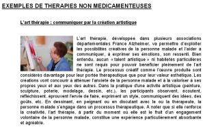 France Alzheimer parle de l'art-thérapie_2011