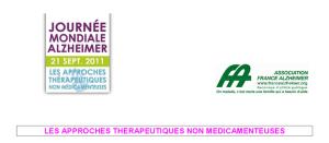 France Alzheimer_2011_les approches thérapeutiques non médicamenteuses